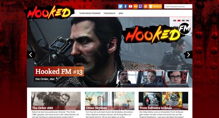 Screenshoot hookedmagazin.de