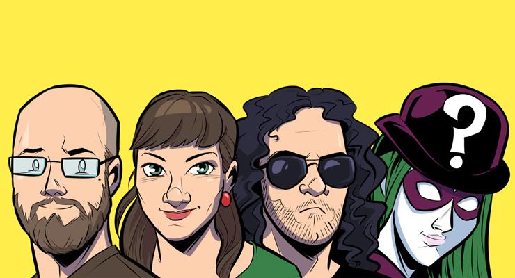 Das Team @derweisheit gezeichnet von @laburrini