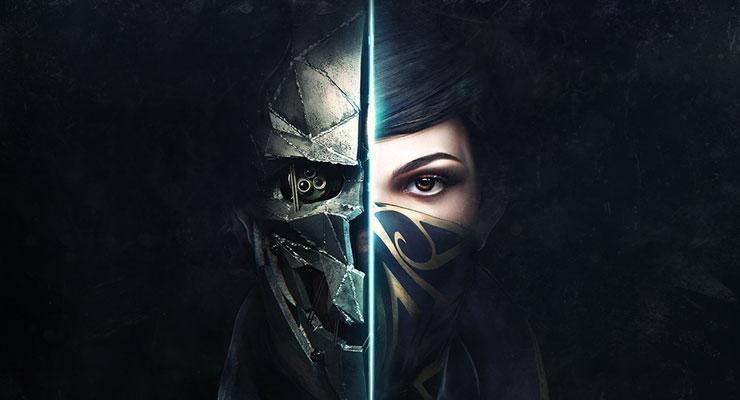 Ein zusammengesetztes Gesicht aus beiden Protagonisten von Dishonored 2. (c) bethesda.net