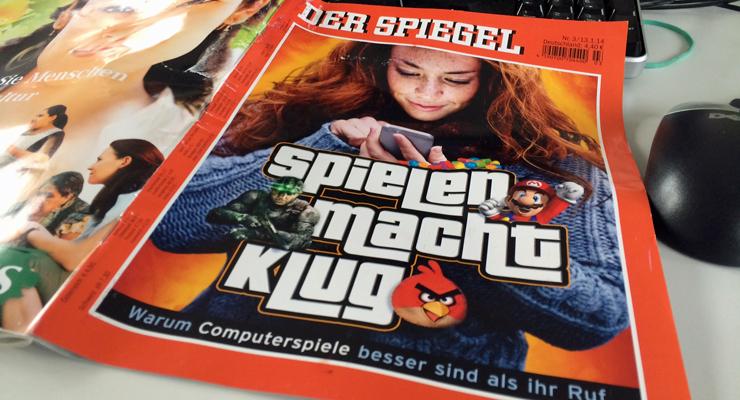 """""""Der Spiele-Spiegel"""" von Benjamin Denes"""