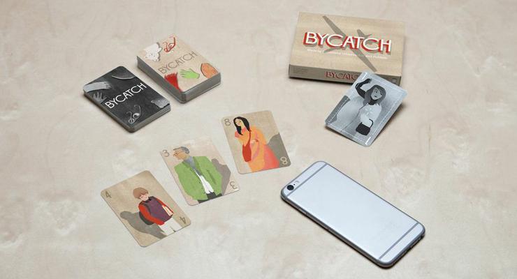 Das Kartenspiel Bycatch