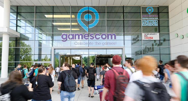 Eingang zur GamesCom in Köln / Foto: Koelnmesse