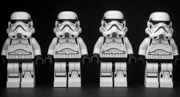 Lego-Stormtrooper von Pixabay
